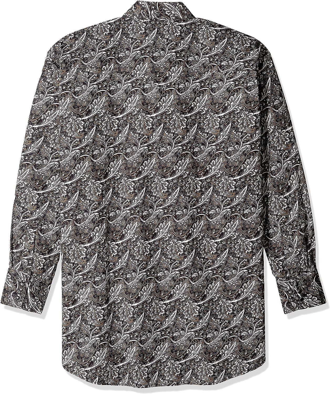 Ely /& Walker Mens Long Sleeve Paisley Shirt