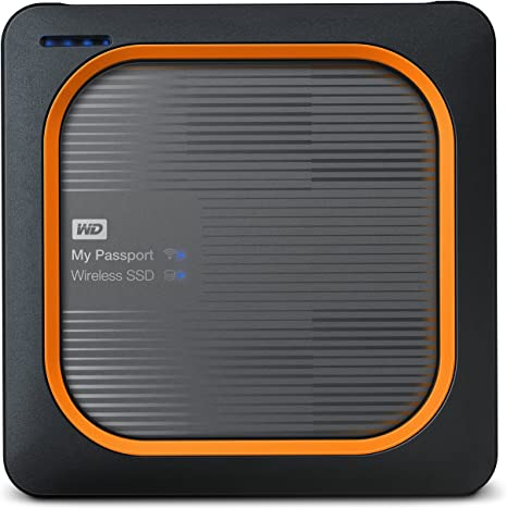 Western Digital My Passport - Disco duro externo, Wireless SSD ...