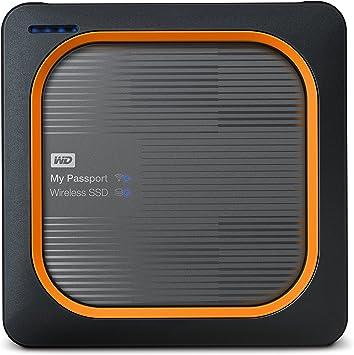 Western Digital My Passport - Disco duro externo, Wireless SSD ...