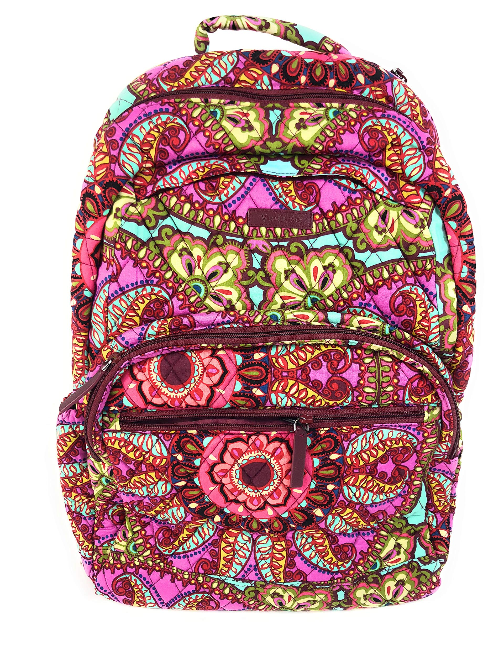 Vera Bradley Essential Large Backpack Cotton Resort Medallion by Vera Bradley