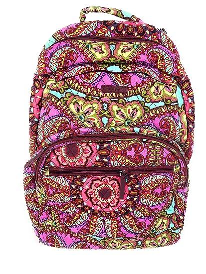 Amazon.com  Vera Bradley Essential Large Backpack Cotton Resort Medallion   Computers   Accessories 71ade1709668c