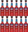 STP Gas Treatment, Fuel Intake System Cleaner, Bottles, 5.25 Fl Oz, Pack of 12, 18039G-12PK