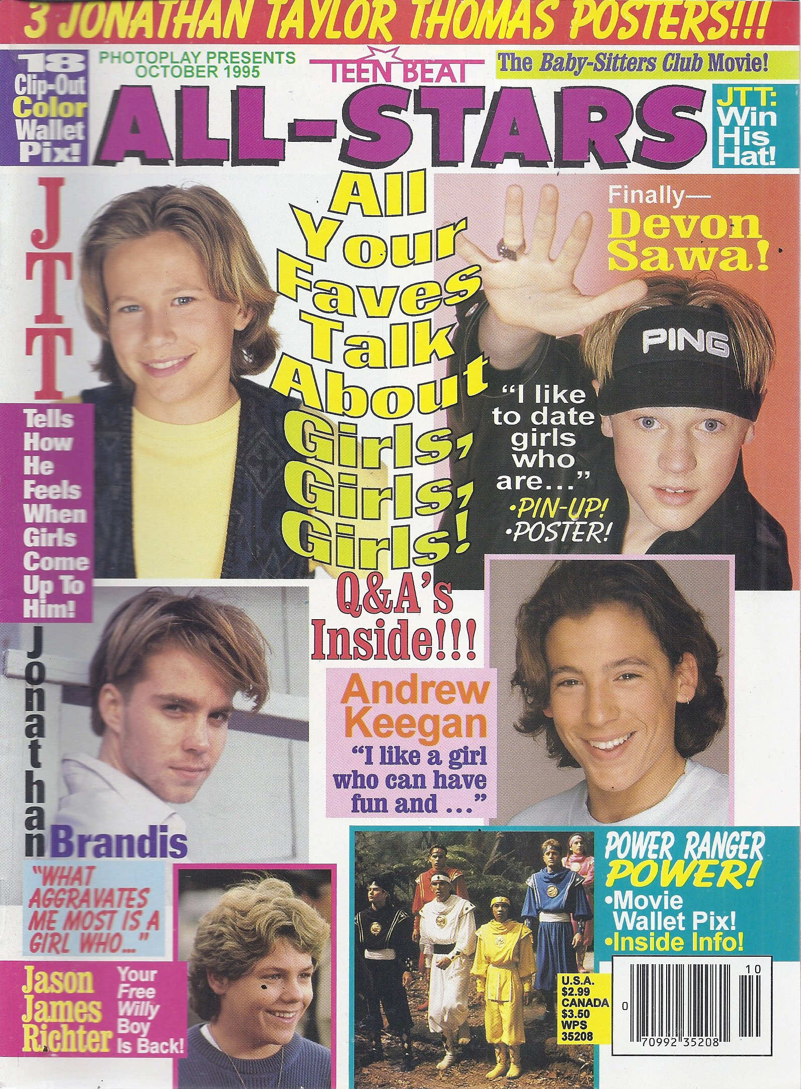 Teen star magazine girls matchless