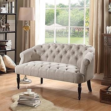 loveseat imoji skyline s november club tufted settee furniture