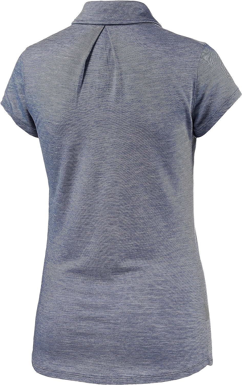 Cool-Lite Fabric for Summer Moisture Wicking Icebreaker Merino Womens Sphere Lightweight Short Sleeve Polo Shirt