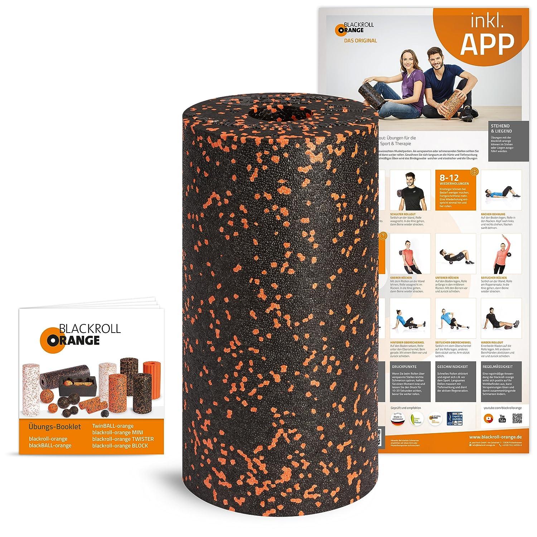 Amazon.com : Blackroll Orange (The Original) - Self-massage Roll ...
