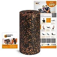Blackroll Orange Faszien-Rolle, EPP Schaumstoffrolle inkl. Booklet und App, Massage-Rolle für Faszientraining, Verspannungen oder Yoga