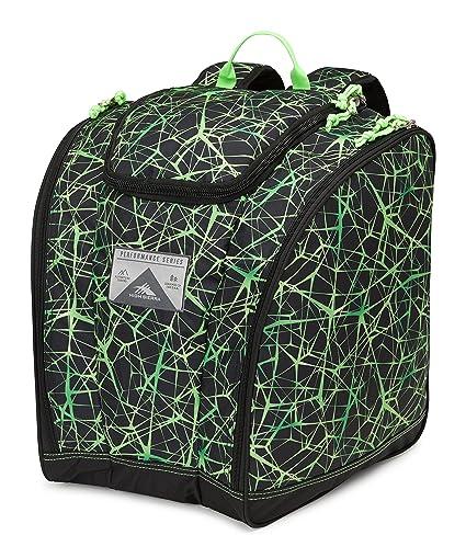 e644af69c3dad High Sierra Ski Boot / Snowboard Trapezoid Boot Bag Backpack - Digital Web/ Black/