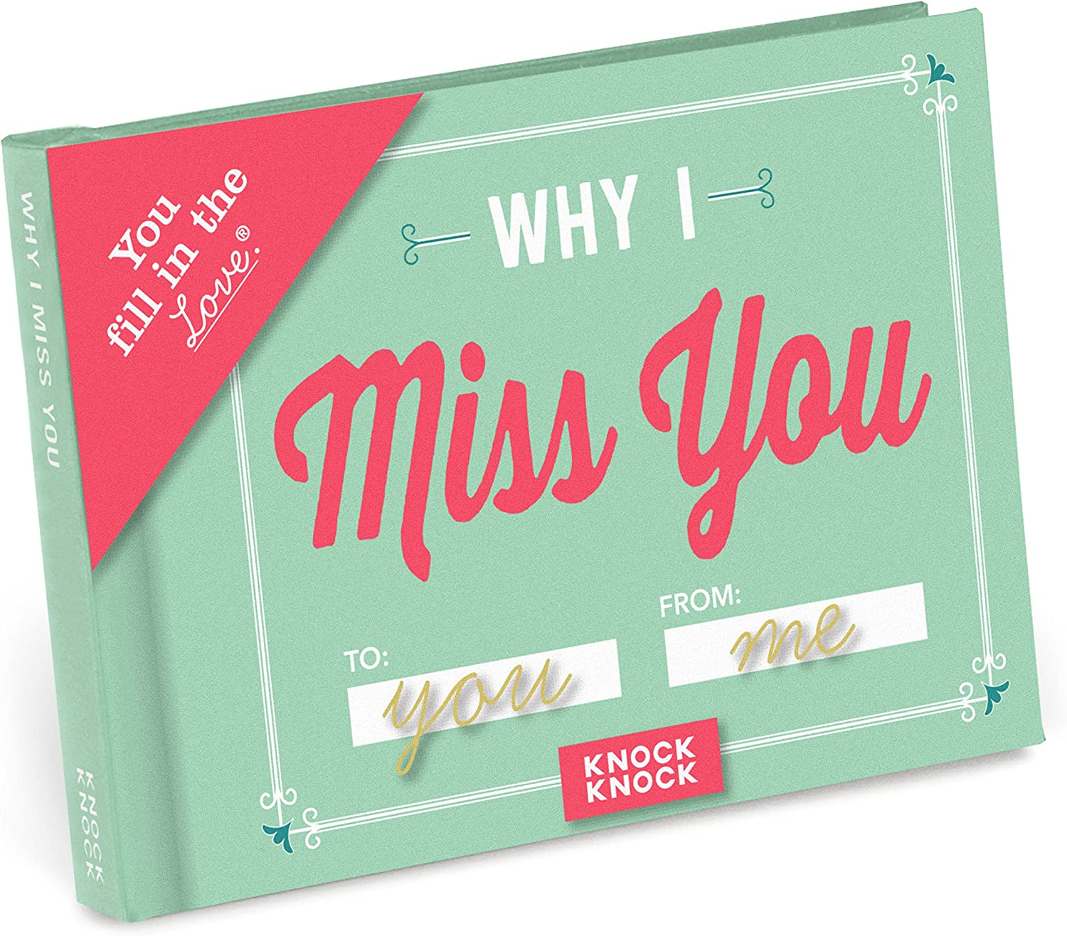 """Why I Miss You"" Fill-in-the-Love Book"
