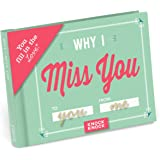 """Knock Knock Why I Miss You Fill in the Love Journal, 4.5"""" x 3.25"""" (50259)"""