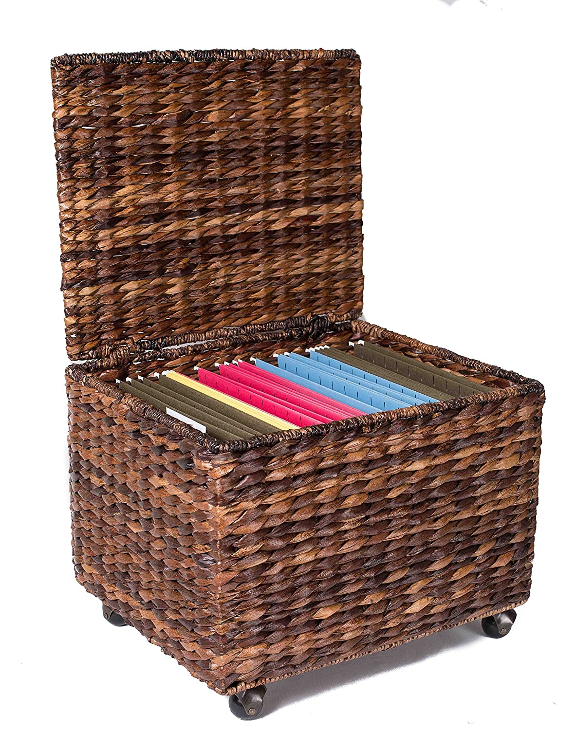 office file racks designs. Amazon.com: BirdRock Home Seagrass Rolling File Cabinet | Storage Office Decor Abaca Espresso: Kitchen \u0026 Dining Racks Designs C