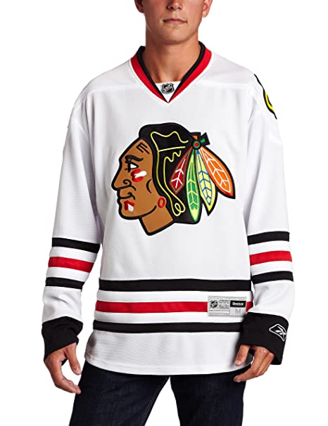 new product 9668e 1825f NHL Chicago Blackhawks Premier Jersey, White