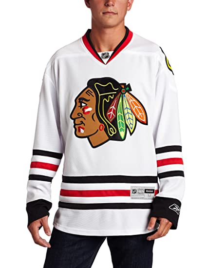new product b538e 88dc2 NHL Chicago Blackhawks Premier Jersey, White