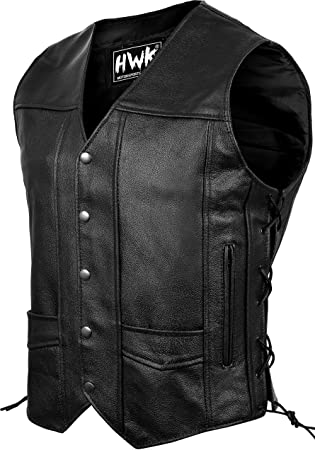 leather vest jacket eagle live to ride for biker country NEW big size S ~7XL