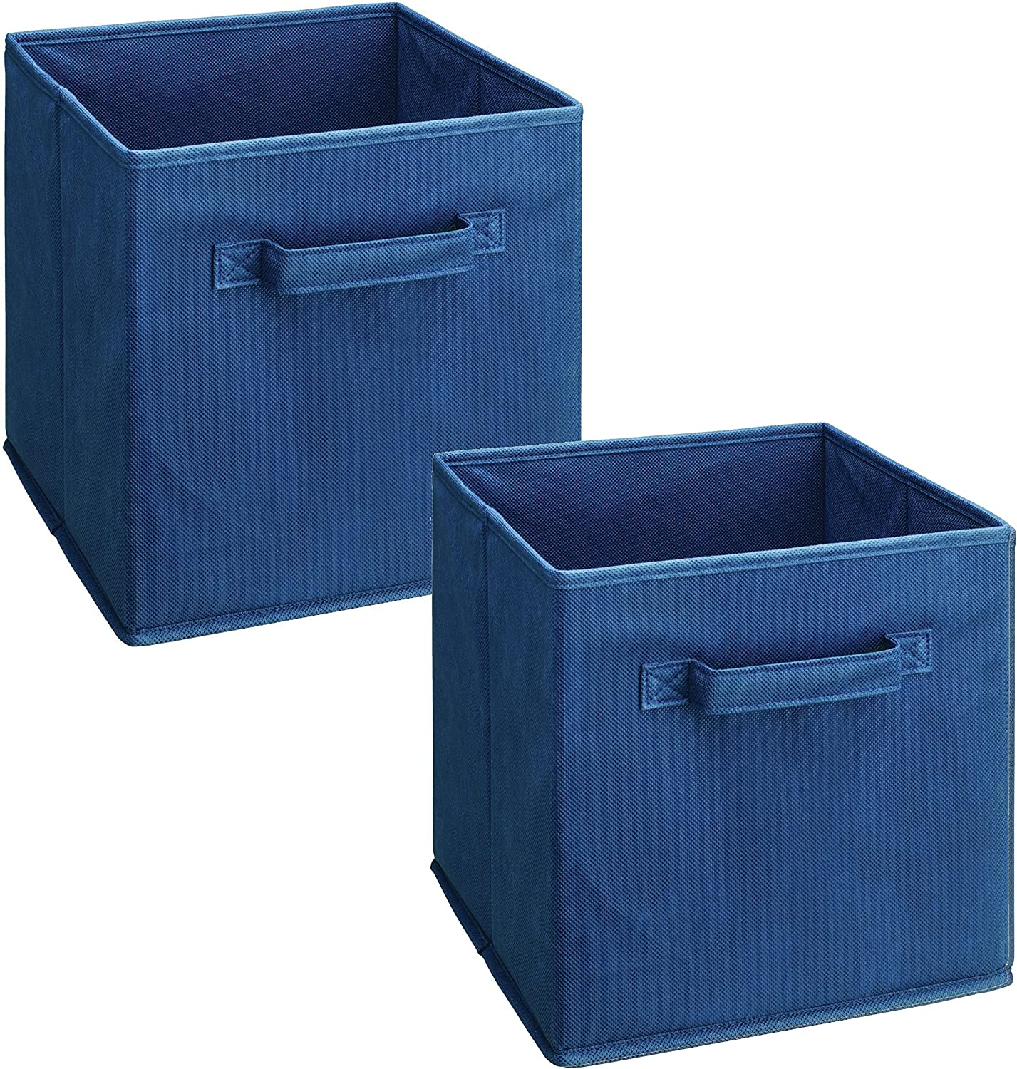 ClosetMaid 1433 Cubeicals Fabric Drawers, Blue, 2-Pack