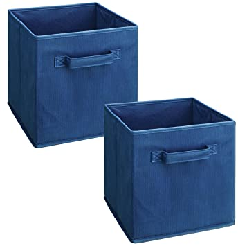 ClosetMaid 1433 Cubeicals Fabric Drawers, Blue, 2 Pack