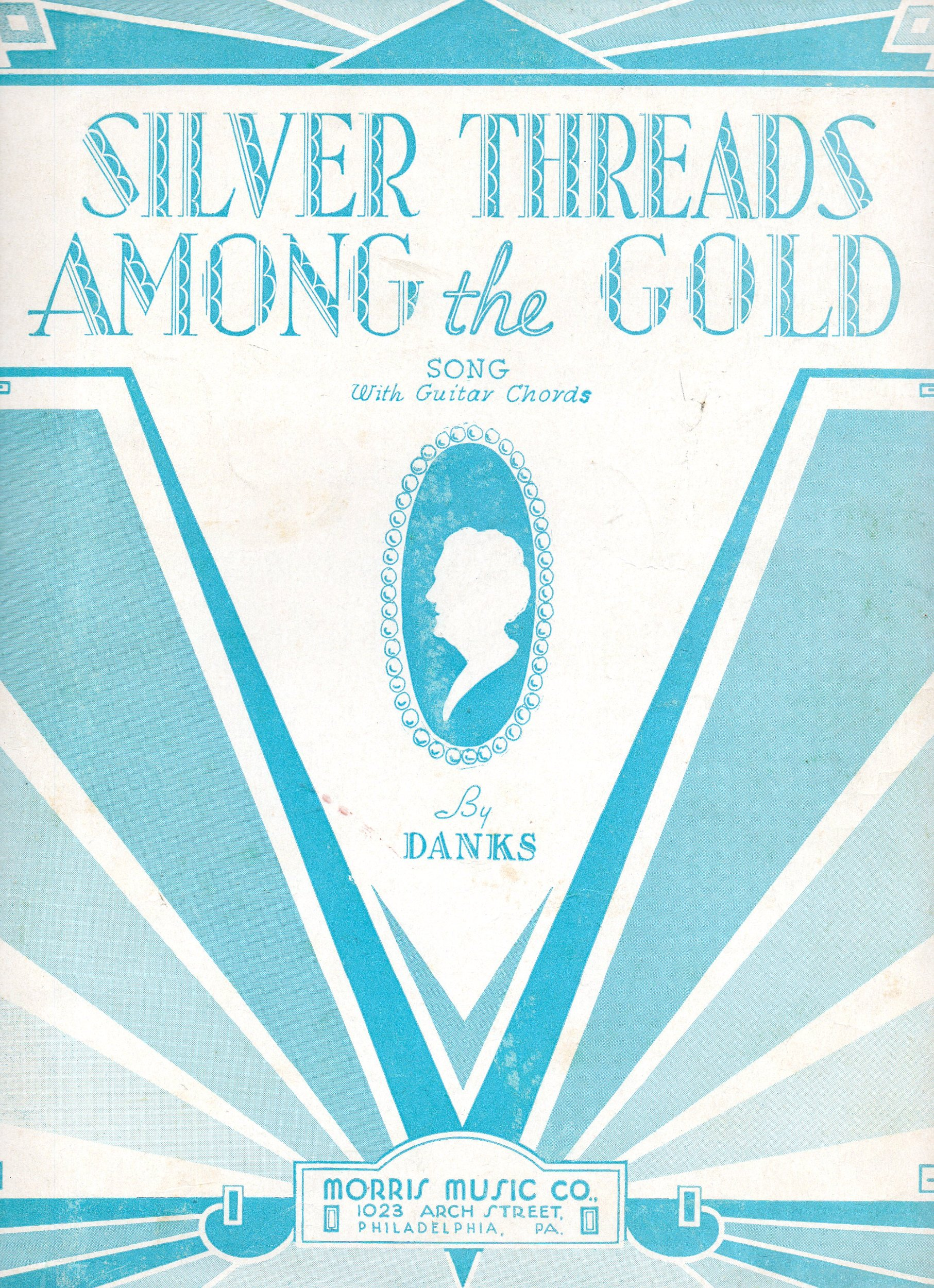 Amazon Vintage Vocal Sheet Music Silver Threads Among The Gold