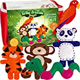 Four Seasons Crafting Kids Sewing Kit and Animal Crafts - Fun DIY Kid Craft and Sew Kits for Girls and Boys 120 Piece…