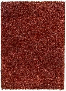 Linon Home Decor Confetti Collection Rug, Copper, 8' x 10'