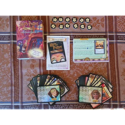 Harry Potter Trading Card Game Two-Player Starter Set: Toys & Games