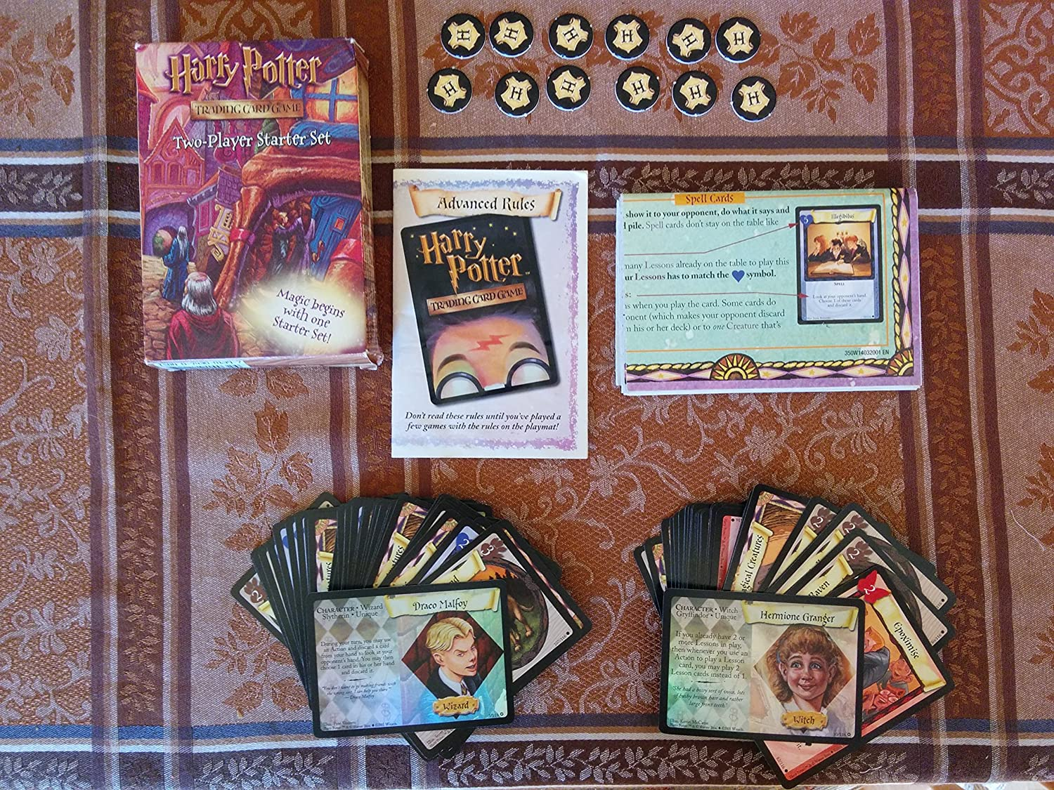 Harry Potter Trading Card Game Two-Player Starter Set: Amazon.es ...