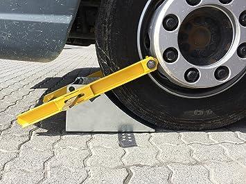 Autoridades cepo de rueda para camiones y autobuses de hasta 7,5 t y 370 mm