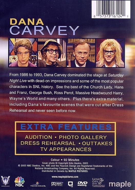 Saturday Night Live The Best Of Dana Carvey Amazonca Dvd