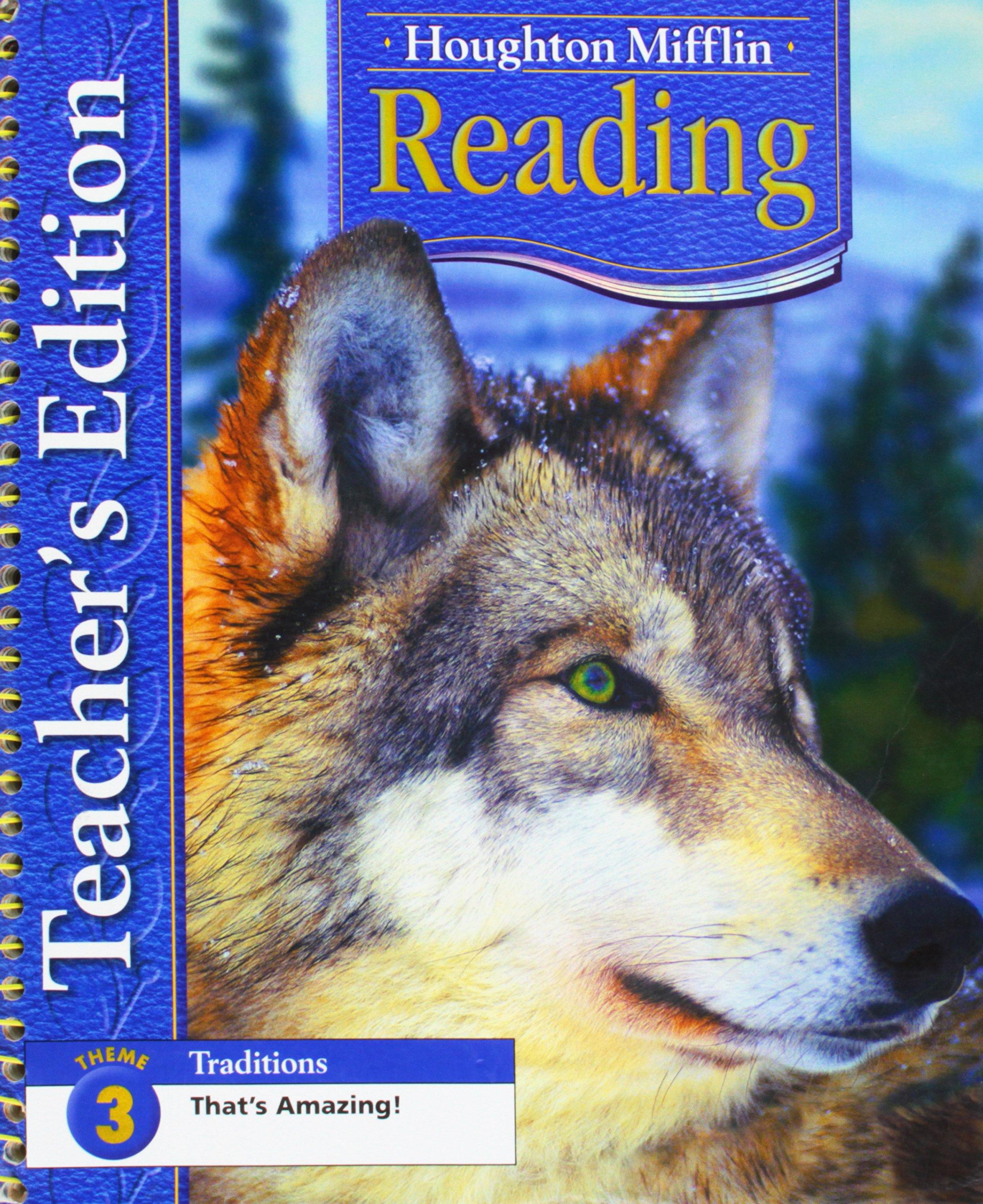 Houghton Mifflin Reading: Teacher's Edition Grade 4 Theme 3 2005 pdf epub