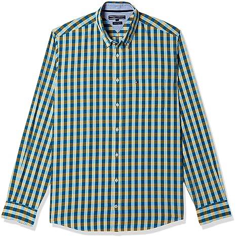 Tommy Hilfiger Men's Casual Shirt Men's Casual Shirts at amazon