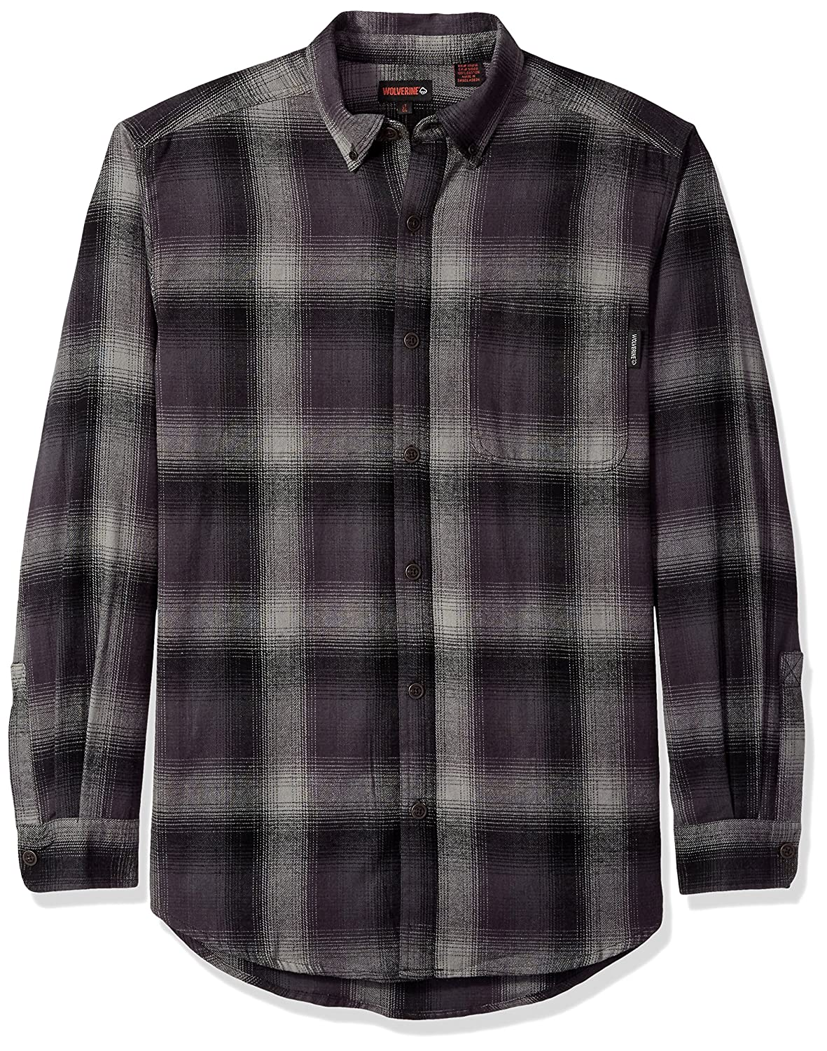 Wolverine SHIRT メンズ B072W83BRT X-Large Tall|Dust Plaid Dust Plaid X-Large Tall
