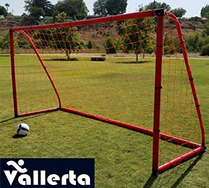 Vallerta Premier Portable 12 X 6 Ft. AYSO Youth Regulation Size Soccer Goal  w  c51625463
