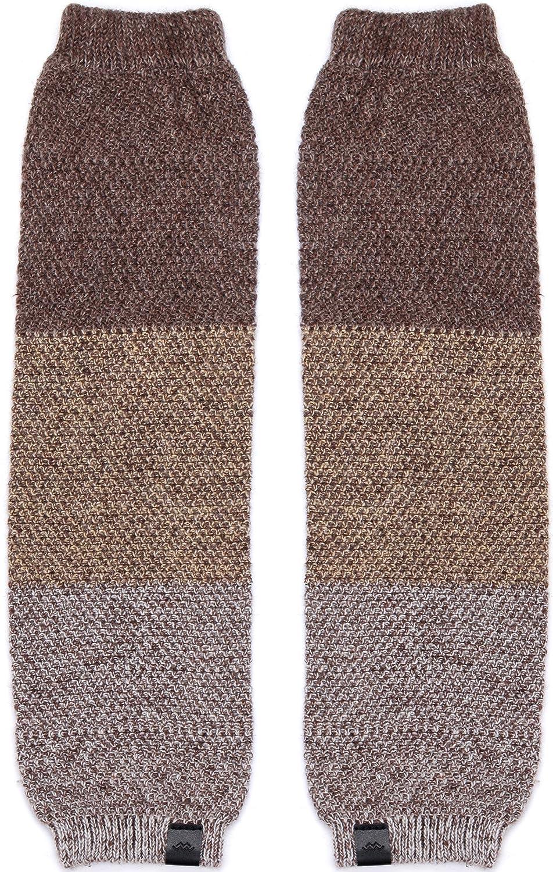 507bd5cf9 Winter Knee High Knit Leg Warmer Socks Enclosed in an Elegant Gift Box  LW031-01-BI-1 Marino Long Leg Warmers For Women