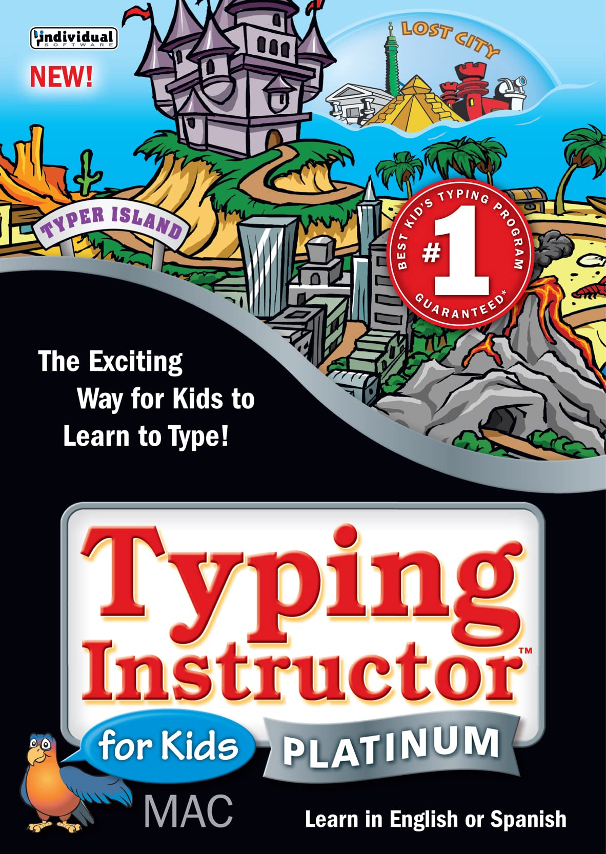 B01EGZVD8M Typing Instructor Platinum for Kids 6 - Mac [Download] A19RAuz4mWL