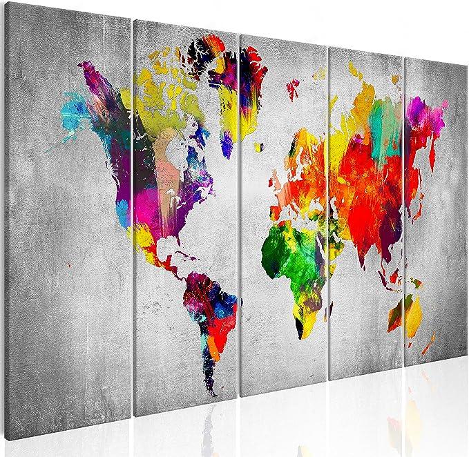Sihuanian Albedo Wandkunst Hddrucke Wohnkultur 5 St/ück Leinwand Malerei Modulare Bilder Modernes Wohnzimmer Kunstwerk Poster 100X50Cm Ungerahmt