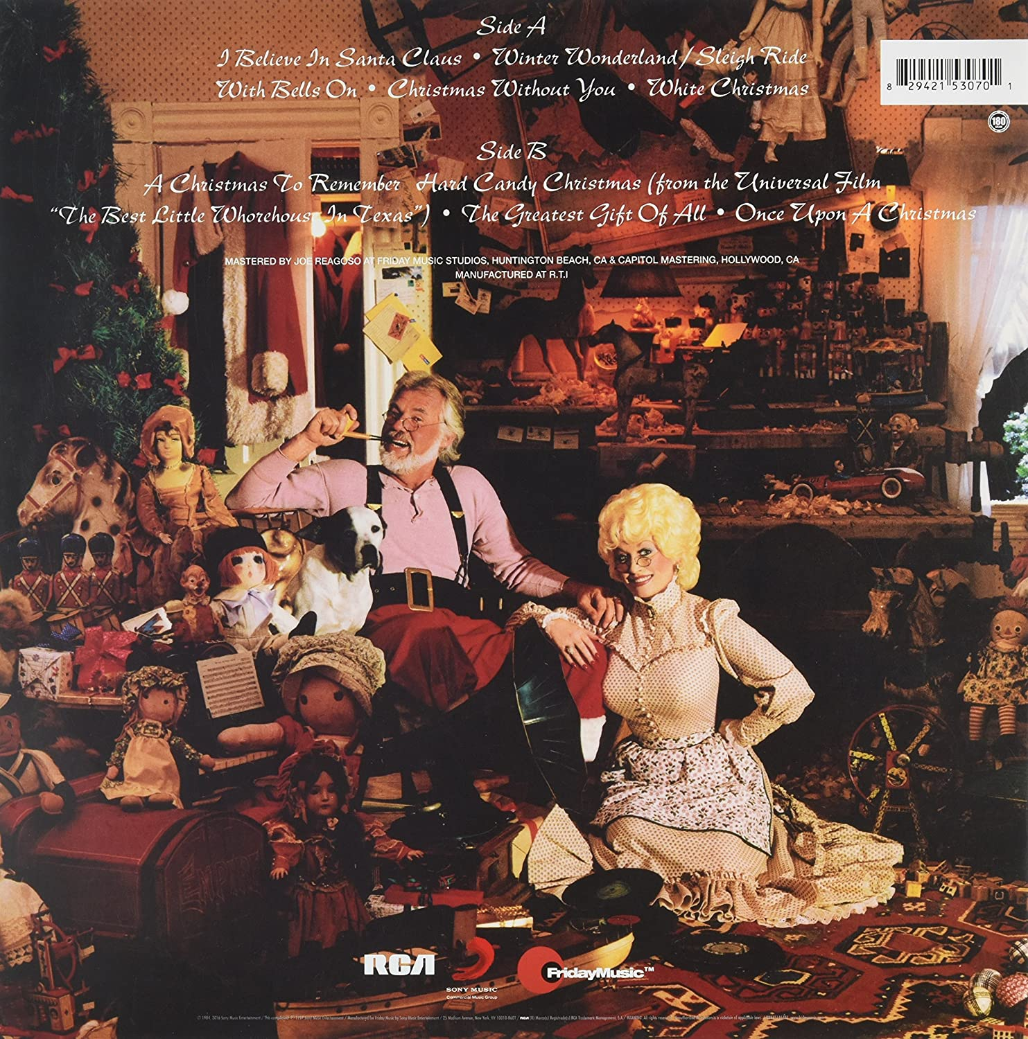 Kenny Rogers & Dolly Parton - Once Upon A Christmas (180 Gram ...