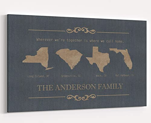 Amazon Com Long Distance Relationships Gifts Personalized Four