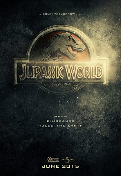 Amazon Com Jurassic World 2015 Movie Poster 24 X 36 Inches Glossy Finish Thick Chris Pratt Bryce Howard Dallas Posters Prints
