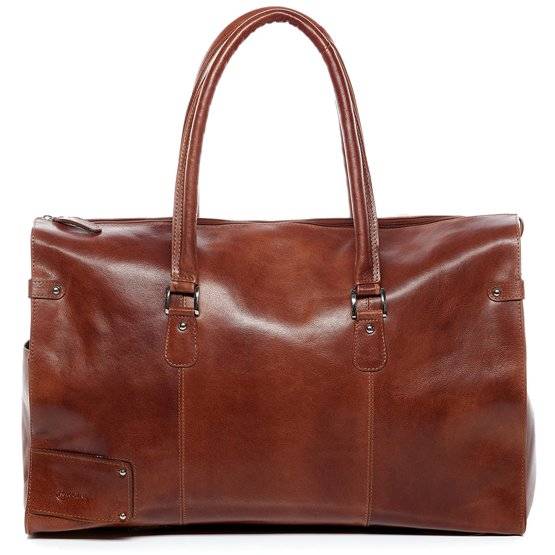 1b695065d7 BACCINI grand sac de voyage cuir véritable LUCA fourre-tout besace week-end  sac. Agrandir l'image