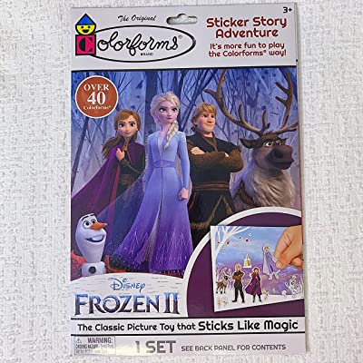 Colorforms Frozen 2 Sticker Story Adventure: Toys & Games
