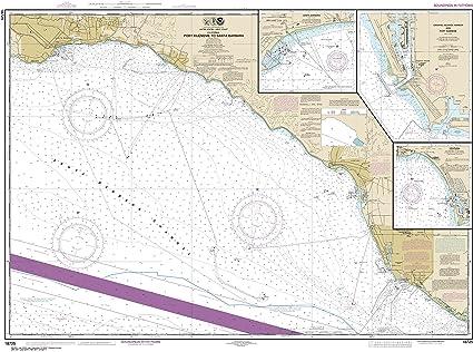 Amazon Com Noaa Chart 18725 Port Hueneme To Santa Barbara Santa