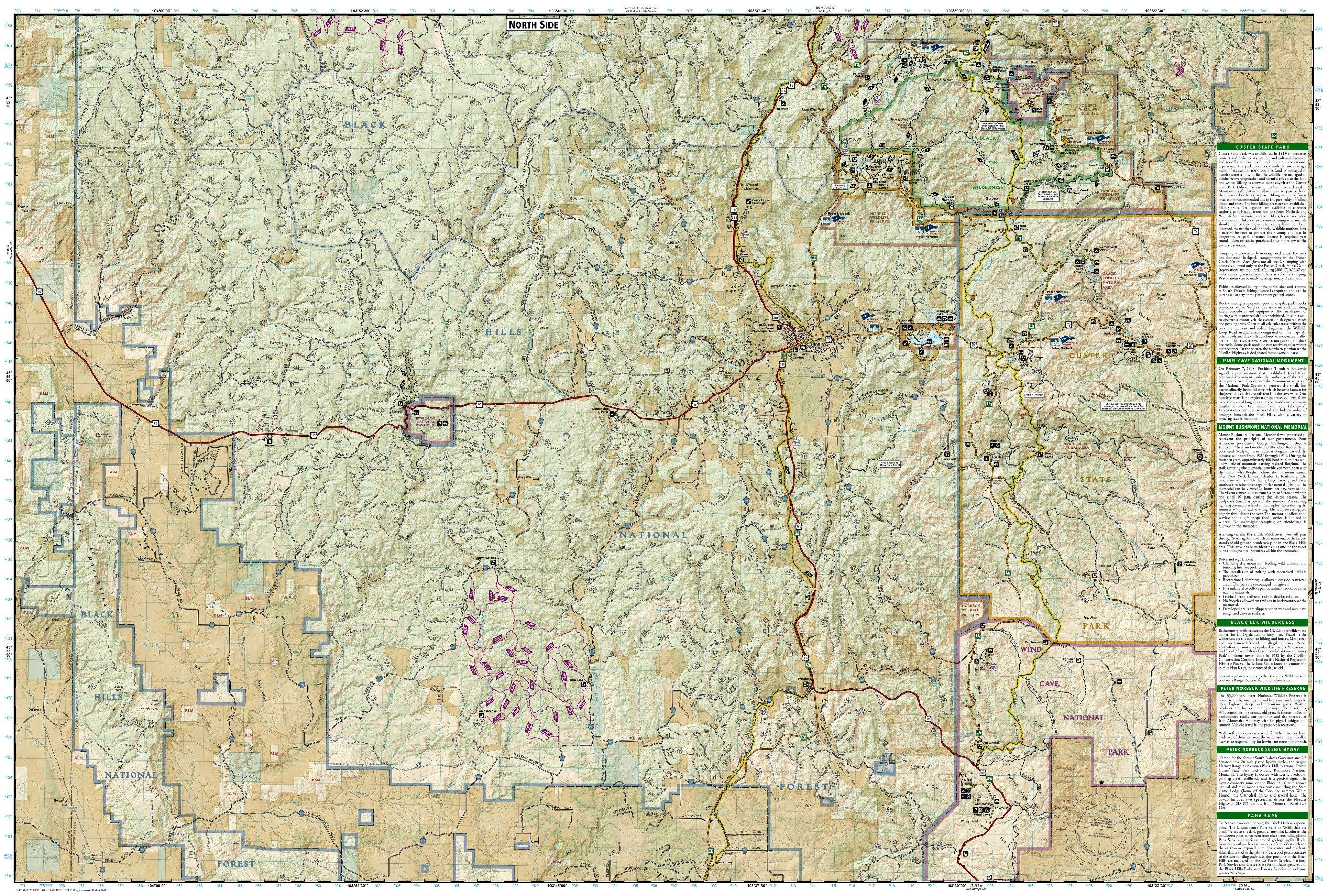Black Hills National Forest /[Map Pack Bundle/] /(National ...