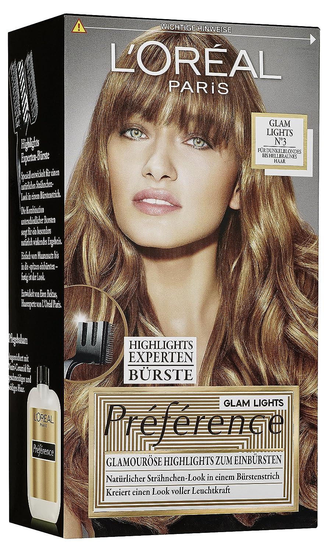 L'Oréal Paris Préférence Glam Lights Nr 3, 1er Pack (1 x 1 Stück) 1er Pack (1 x 1 Stück) L' Oréal Paris A7772900