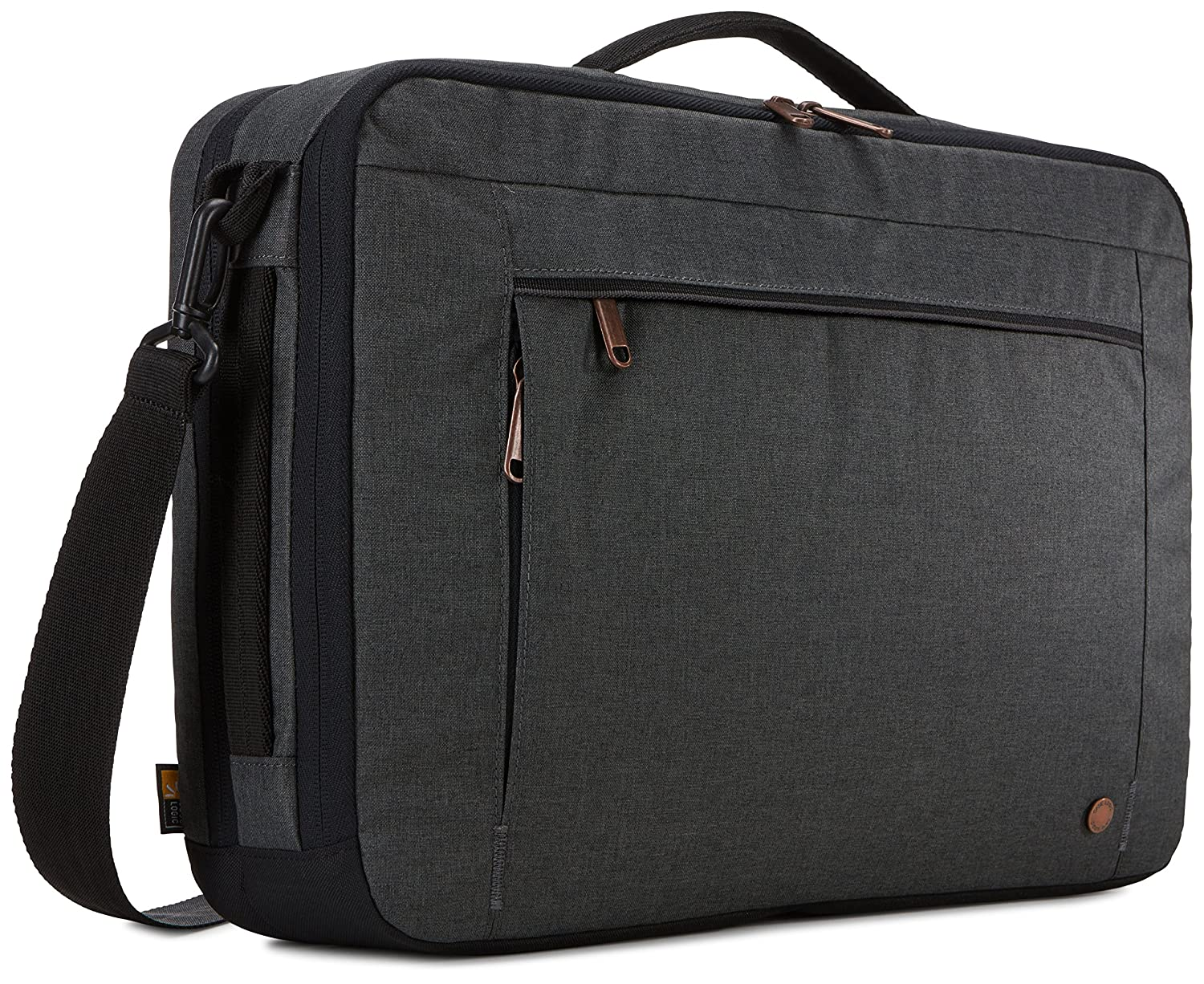Case Logic 3203698 Era 15.6 Hybrid Briefcase Obsidian