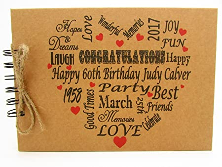 Free Birthday Uk ~ Personalised birthday th st th th th th photo album