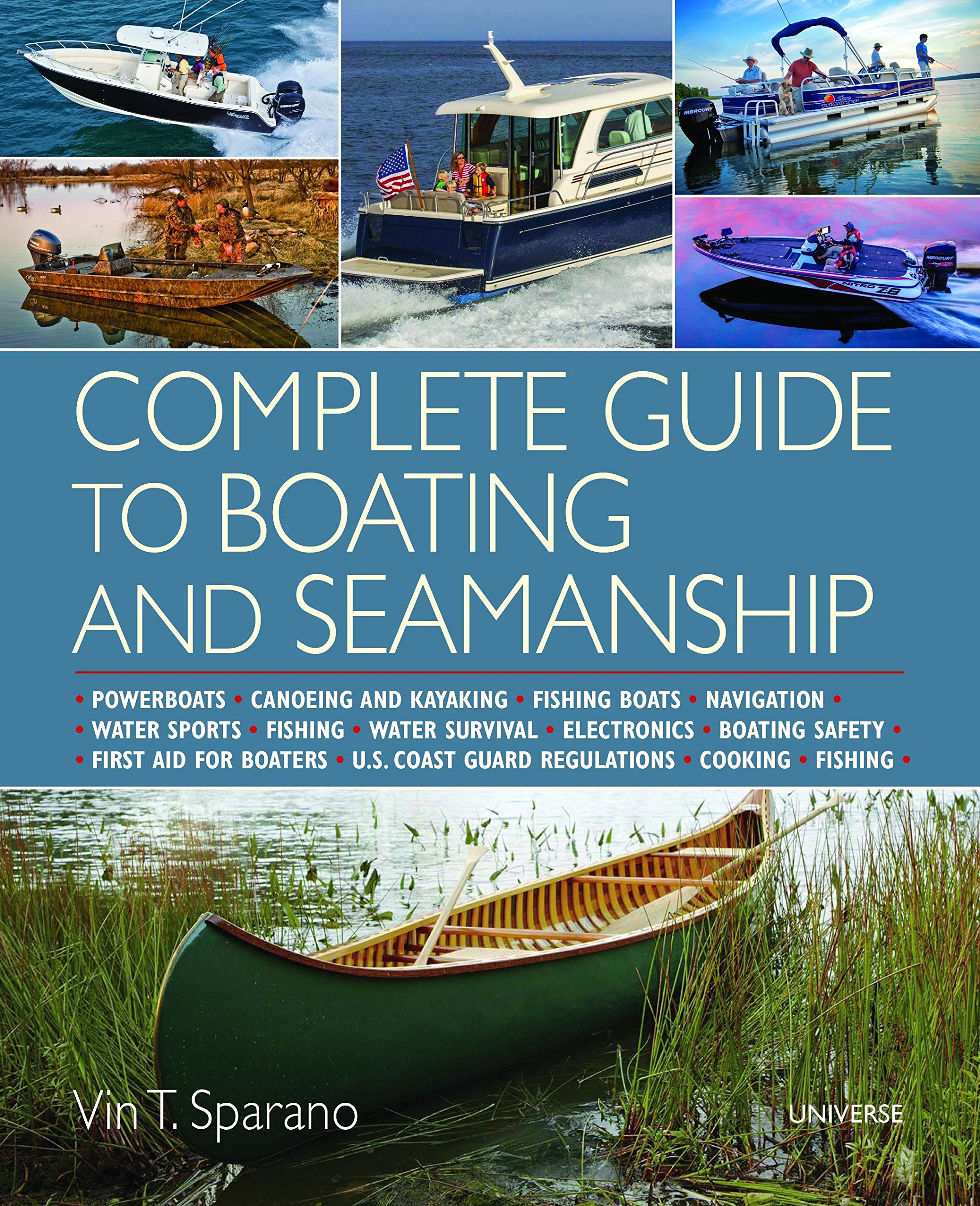 Complete Guide to Boating and Seamanship: Powerboats - Canoeing and Kayaking - Fishing Boats - Navigation - Water Sports - Fishing - Water Survival - ... - Boating Safety - First Aid For Boaters pdf