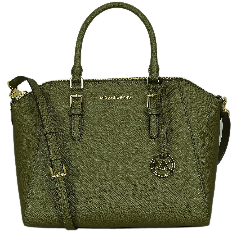 af65259ab315 Amazon.com: Michael Kors Women's Ciara - Large Top Zip Satchel: Shoes