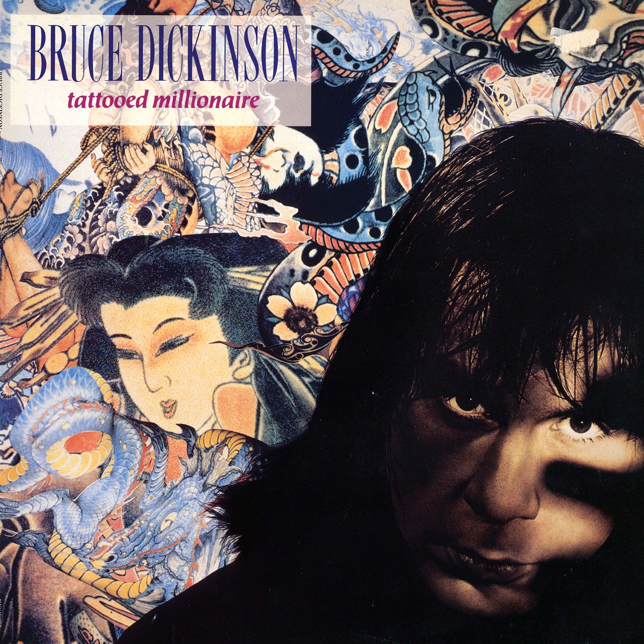 Vinilo : Bruce Dickinson - Tattooed Millionaire (180 Gram Vinyl)