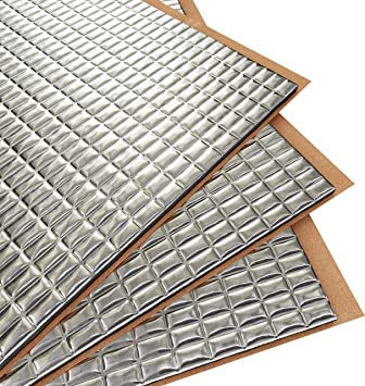 80 mil 36 sq.ft Butyl Automotive Sound Deadener Mat