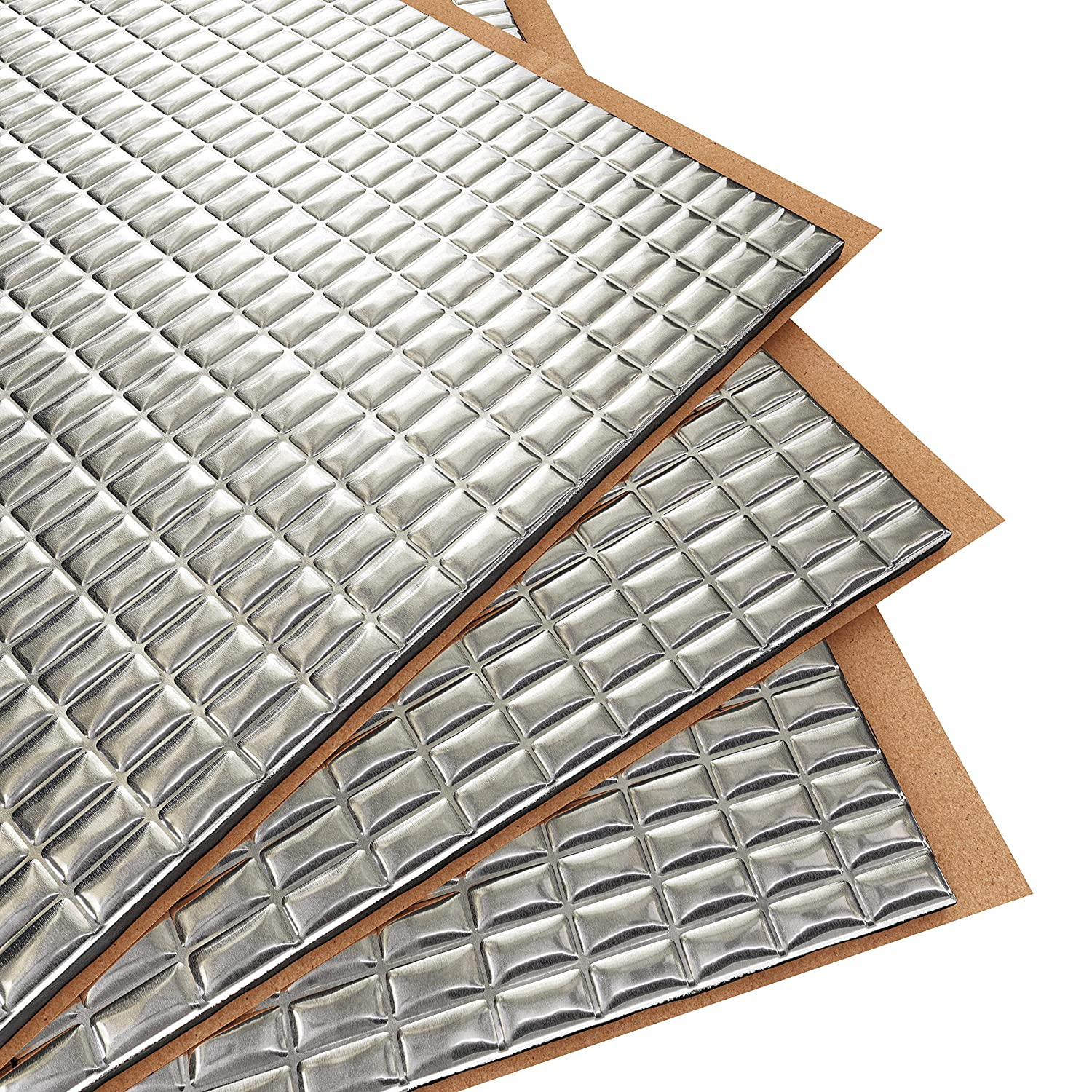 Siless 80 mil 36 sqft Sound Deadening mat | Sound Deadener Mat | Car Sound Dampening Material | Sound dampener | Sound deadening Material Sound Insulation | Car Sound deadening
