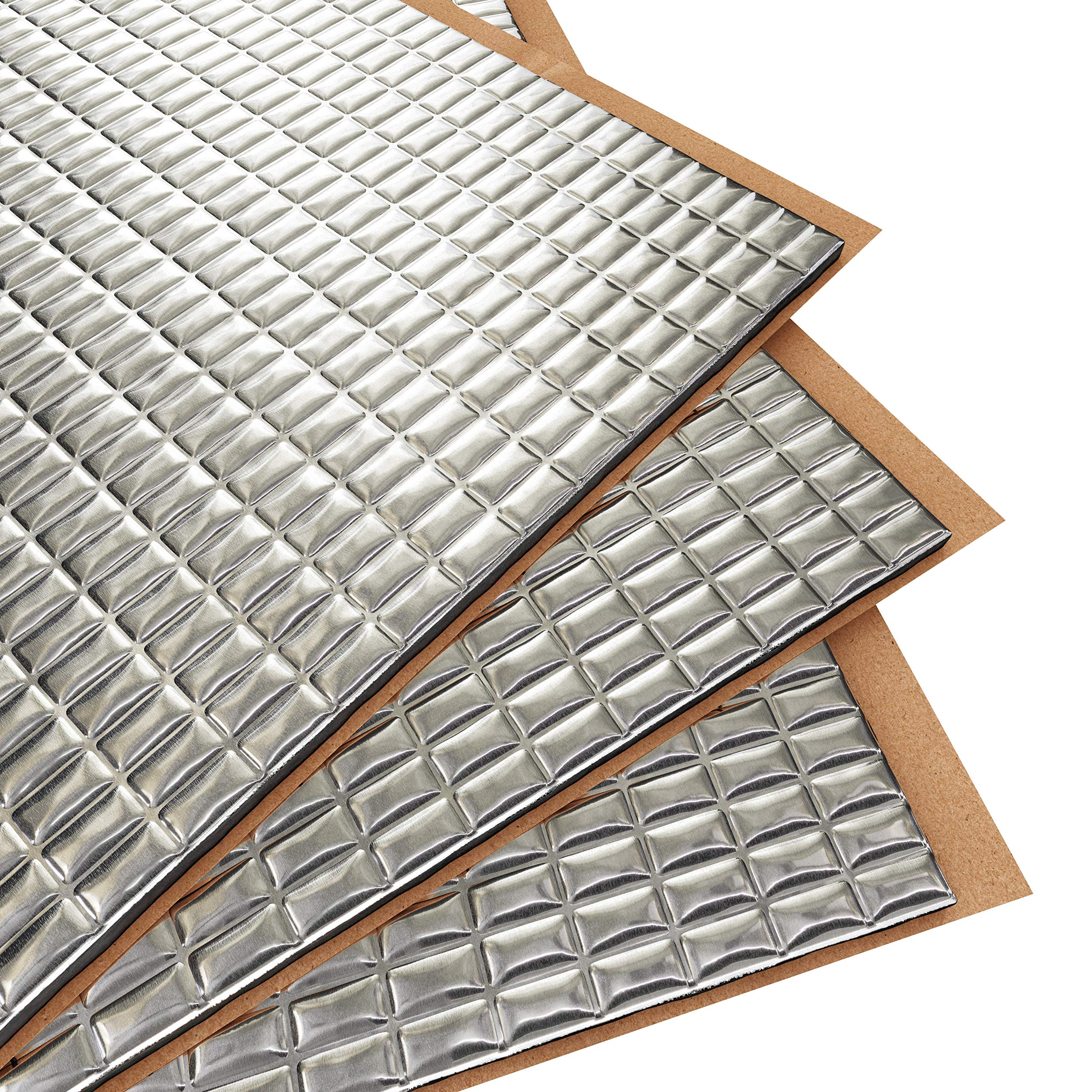 Siless 80 mil 36 sqft Sound Deadening mat | Sound Deadener Mat | Car Sound Dampening Material | Sound dampener | Sound deadening Material Sound Insulation | Car Sound deadening by Siless